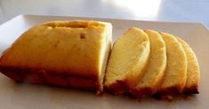 The famous lemon cake, no sugar, no butter and so delicious - Bread Recipes Tasty Bread Recipe, Bread Maker Recipes, Beignets, Cake Recipe Without Sugar, Lemon Bread, Banana Bread, Cake Recipes From Scratch, Homemade Cake Recipes, Food Cakes