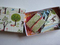 Birthday party in a (match) box! altered matchbox by Katie-Claire's Cottage, via Flickr