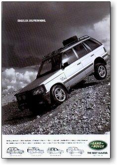 Range Rover P 38 Ads