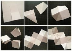 Cool letter folding