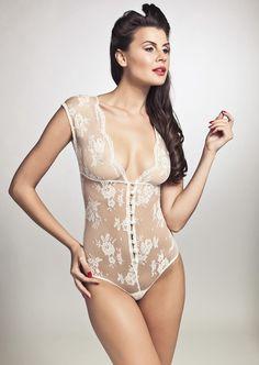 Sonata Lingerie Aida | Lace Bodysuit | Pleasurements