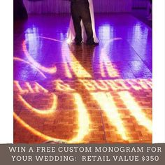 Now that you've found the love of your life, let us light up your wedding!  Enter our contest for your chance to win a FREE Custom Monogram for your wedding reception with a retail value of $350 when you book a Style or Allure wedding package by February 28. No reposting or commenting necessary, simply follow the instructions below!  1. Follow (@charizmamarz) 2. Take a selfie in our booth at the bridal show, post in on your account and tag it #CharizmaWedding17  All entries must be submitted…