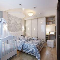 kleine-schlafzimmer-modern-weiss-hellgrau-babybett