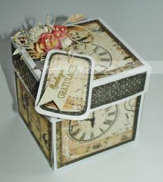 Hummingbird Workshop: 45! Wedding Exploding Box