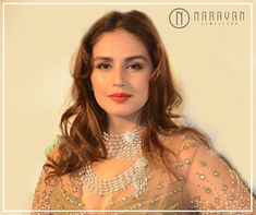 Diamonds tells a story without even a single word- A non-verbal communication of style. Huma Qureshi, Single Words, Celebs, Celebrities, Communication, Bollywood, Diamonds, Chokers, Style