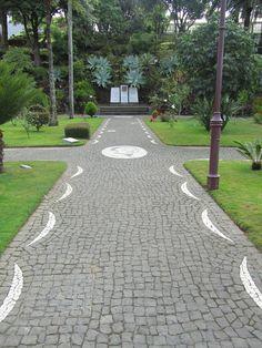 Jardim em Angra do Heroísmo, Terceira - Açores