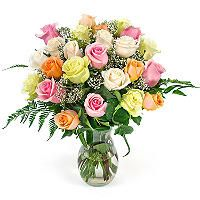 Rose Bouquet - Mixed Pastel - 2 Dozen - Sam's Club