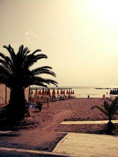 Grottammare's Beach