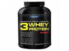 Whey Protein 3W Baunilha 2,2Kg Probiótica - Proteína Concentrada, Isolada e Hidrolizada