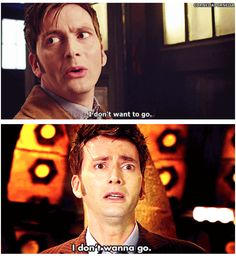 AWWWWWWWWWW the tenth doctor is my favorite. When he regenerated I literally cried for about ten minutes!! Then I was pissed the entire first episode with the eleventh doctor!