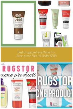 The Drugstore Face Masks Our Editors Swear By Facialcleanser Best Drugstore Face Masks Fo Best Drugstore Acne Products, Best Drugstore Face Mask, Honey Face Mask, Best Face Mask, Face Masks, Homemade Acne Mask, Face Scrub Homemade, Overnight Pimple Remedies, Face Mask Peel Off