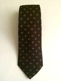 Vintage Neckties Men's 80's London Fog Silk by Freshandswanky, $7.00