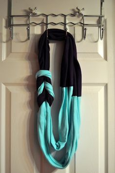Craft Of The Day: How To Make A T-Shirt Scarf With actual tutorial :)