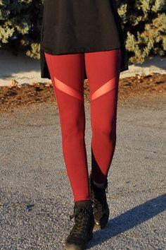 Κολάν dry fit με διαφάνεια μπορντό Fitness, Pants, Fashion, Trouser Pants, Moda, La Mode, Women's Pants, Fasion, Women's Bottoms