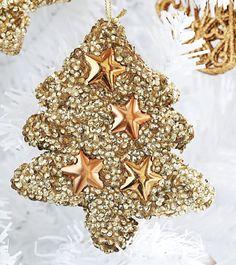 Una de las tendencias esta #Navidad es jugar con el blanco y el dorado. ¡Atrévete!