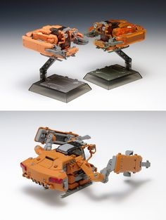 Keiko  space pod Crab03