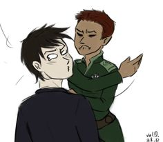 Artemis and Holly's encounters end with her slapping him about 90% of the time. Or him at least deserving to be slapped…
