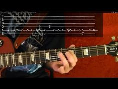 How to Play THUNDERSTRUCK Intro by AC/DC by BobbyCrispy - YouTube