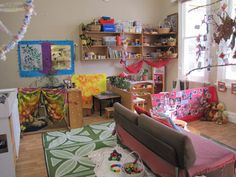 This post has a beautiful example of a toddler room in a childcare centre. Lovely set up, lots of little nooks set up beautifully. This is what I dream of for my toddler room. @Lani @Janice Brown