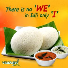 For the love of Idli and enjoying a healthy & hearty breakfast on Monday morning all by yourself is Enjoy piping hot & delicious Idlis @ Vaango. Indian Foods, South Indian Food, Indian Food Recipes, Food Poster Design, Food Design, Creative Design, Healthy Hearty Breakfast, Restaurant Poster, Chapati