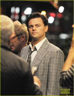 Leonardo DiCaprio: 'Wolf of Wall Street' Night Shoot!