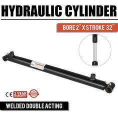 Hydraulic Cylinder Welded Double Acting Bore Stroke Cross Tube for sale online Welding Equipment, Heavy Equipment, Outdoor Power Equipment, Garden Equipment, Hydraulic Ram, Hydraulic Cylinder, Ice Dams, 3 Bears, Pressure Pump
