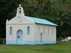 Eglise en Nouvelle Calédonie