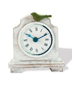 Cream Dover Clock by Foreside