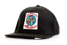 Gorra béisbol Los Pollos Hermanos. Breaking Bad Magnífica gorra al estilo béisbol, basada en la serie de TV  de gran éxito Breaking Bad.