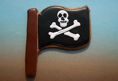 Pirate Flag Cookie Favors | Snack Bake Shop