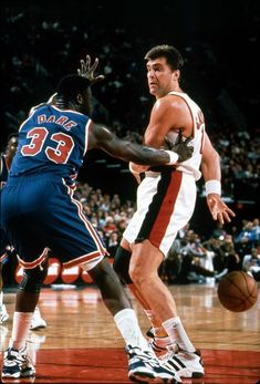 Arvydas Sabonis, best passing big man I've ever seen (Bill Walton great also) I Love Basketball, Basketball Skills, Basketball Pictures, Basketball Legends, Basketball Players, Tennis, Basketball Photography, Nba Stars, Portland Trailblazers