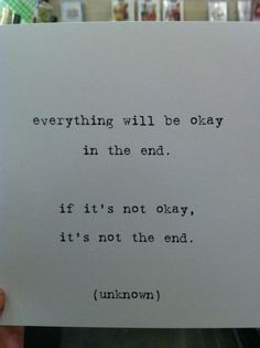 Good life motto.