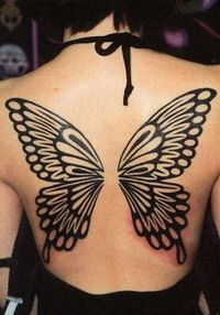Butterfly Tatoo... Please let me do this, someone lol.
