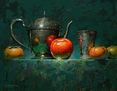 David Cheifetz - Mere Mortals- Oil - Painting entry - October 2016 | BoldBrush Painting Competition