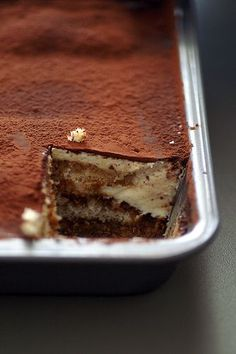 Tiramisu #vegan ....finally! I've been searching for a recipe for this for years!
