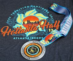 2017 is bringing in some HOT race shirts and even HOTTER finisher medals!