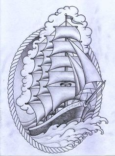 Tatuagem barco 1