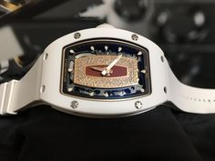 Richard Mille [NEW & RARE] Ladies RM 007 White Ceramic Red Lip RM7 Watch OUR PRICE 售價: HK$759,000. #rm #RichardMille #Richard_Mille #rm007 #rm_007 #rm007Ceramic #rm007_Ceramic #RM007ceramicwhite #RM007_ceramic_white #RM007rosegolddiamond #rm007whitece
