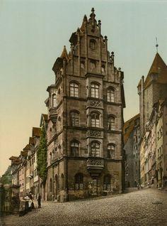 Selbstbewusstsein:  Der Handel hatte Nürnberg Reich gemacht, ihren Reichtum...