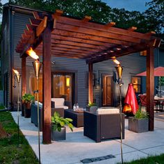 Perfect patio design for what I need!
