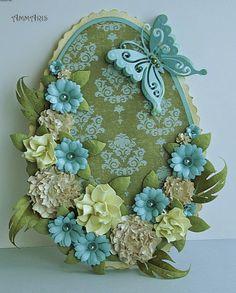 Easter decorations ammarisart.blogspot.com