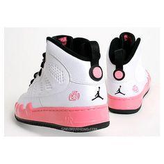 Pink Jordans AJF