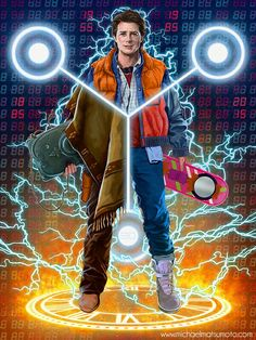 Back to the Future - Marty McFly by Michael Matsumoto