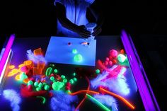 fun glowing activities to do with children