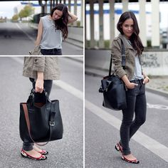 Statement necklace & cowboy flats   (by Teetharejade .com) http://lookbook.nu/look/4514341-statement-necklace-cowboy-flats