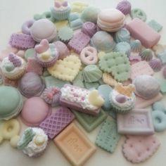 pastel decoden pieces