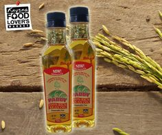 Rice Bran Oil is extracted from the shell of brown rice where most of the valuable vitamins and minerals are located. It can be used in salads, stir fries and deep fried dishes. Get your 100% Paddy Rice Bran Oil from #FLM #Knysna. #ricebranoil #asiancooking