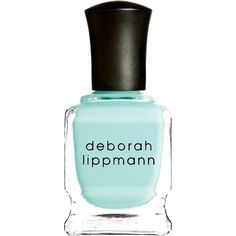 Deborah Lippmann Flowers in Her Hair Nail Polish ($18) ❤ liked on Polyvore featuring beauty products, nail care, nail polish, nails, beauty, makeup, fillers, colorless, flower nail polish and deborah lippmann