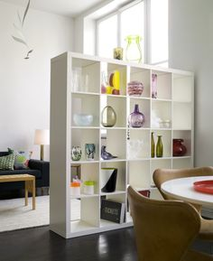 room dividing   Ikea - so far, this has to be my favorite room divider solution. KWren