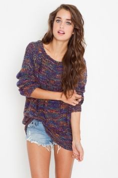Shredded Rainbow Knit - NASTY GAL - StyleSays